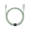 Кабель Native Union Belt Cable XL Lightning Sage (3 m) (BELT-L-GRN-3-NP)