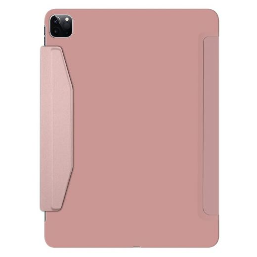 """Чехол-книжка Macally Protective case and stand Rose (BSTANDPRO5L-RS) для iPad Pro 12,9"""" (2021/2020)"""