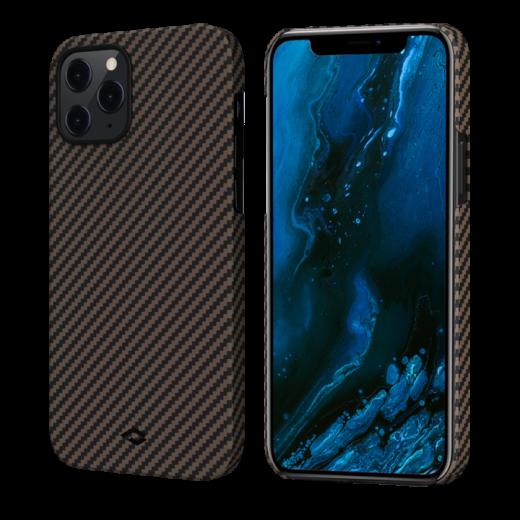 Чехол Pitaka MagEZ Black/Rose Gold Twill (KI1206P) для iPhone 12 Pro