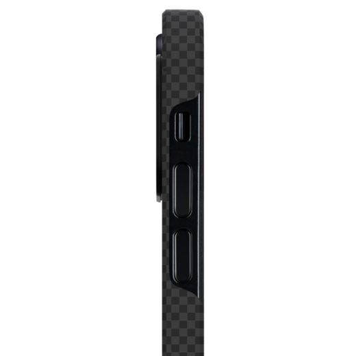 Чехол Pitaka MagEZ Black/Grey (Plain) для iPhone 12 mini
