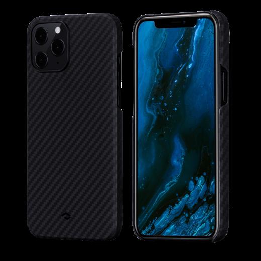 Чехол Pitaka MagEZ Black/Grey Twill (KI1201P) для iPhone 12 Pro