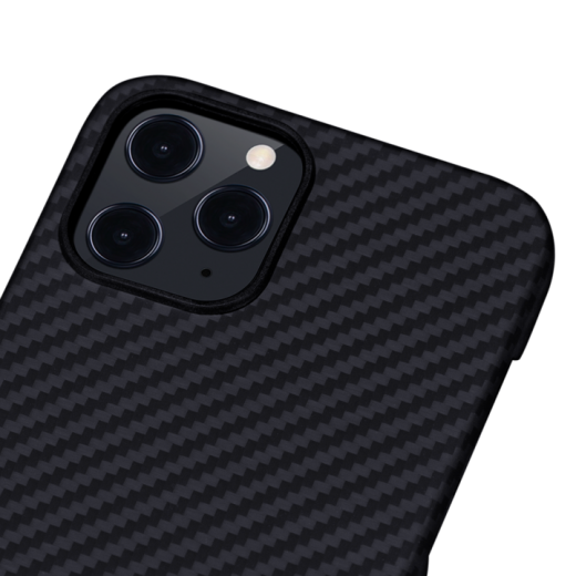 Чехол Pitaka MagEZ Black/Grey (Twill) для iPhone 12 Pro Max (KI1201PM)