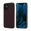 Чехол Pitaka MagEZ Black/Red (Plain) для iPhone 12 mini