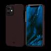 Чехол Pitaka MagEZ Black/Red (Twill) для iPhone 12 mini