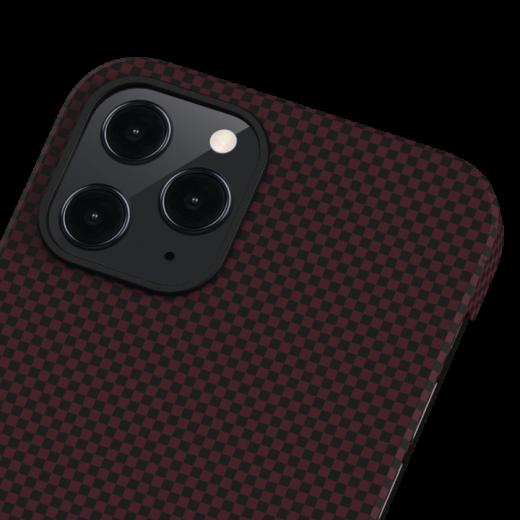 Чехол Pitaka MagEZ Black/Red Plain (KI1204P) для iPhone 12 Pro