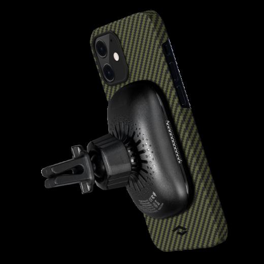 Чехол Pitaka MagEZ Black/Yellow Twill (KI1205M) для iPhone 12