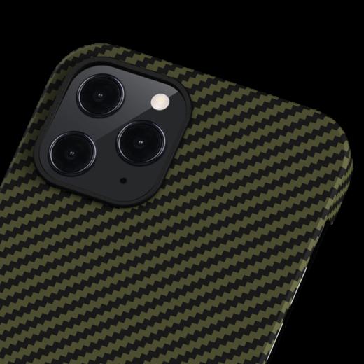 Чехол Pitaka MagEZ Black/Yellow Twill (KI1205P) для iPhone 12 Pro