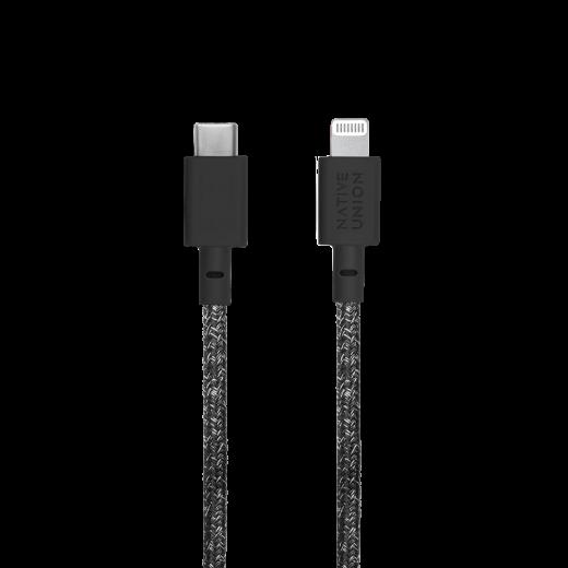Кабель Native Union Belt Cable XL USB-C to Lightning Indigo (3 m) (BELT-CL-IND-3-NP)