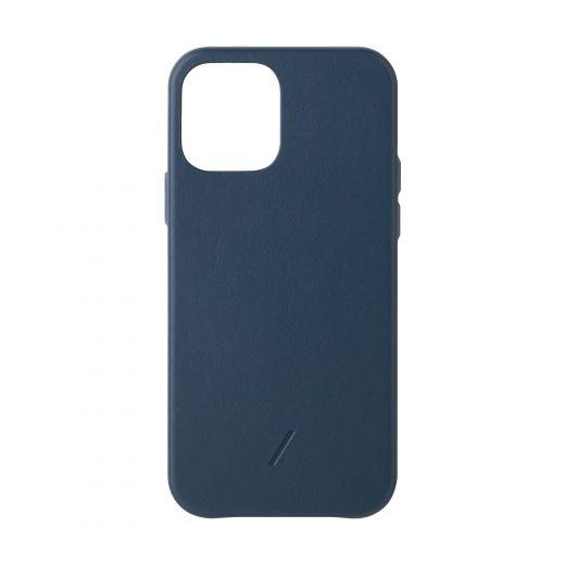 Чехол Native Union Clic Classic Case Indigo (CCLAS-BLU-NP20M) для iPhone 12/12 Pro