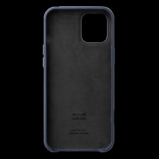 Чехол Native Union Clic Classic Case Indigo (CCLAS-BLU-NP20L) для iPhone 12 Pro Max