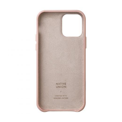 Чехол Native Union Clic Classic Case Rose (CCLAS-NUD-NP20M) для iPhone 12/12 Pro