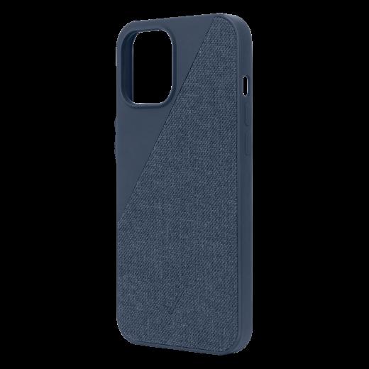 Чехол Native Union Clic Canvas Case Indigo (CCAV-IND-NP20L) для iPhone 12 Pro Max