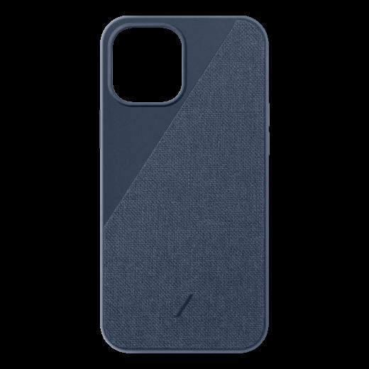 Чехол Native Union Clic Canvas Case Indigo (CCAV-IND-NP20M) для iPhone 12/12 Pro