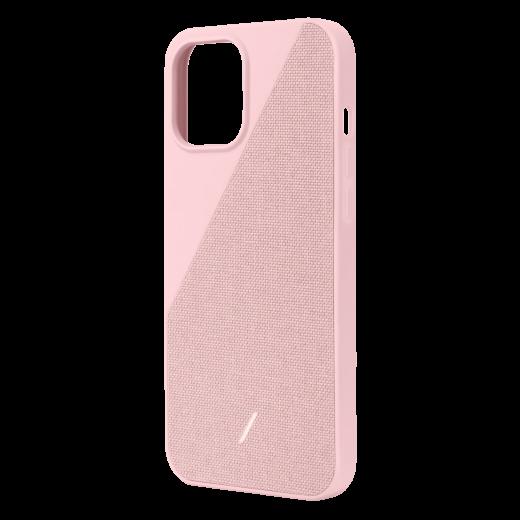 Чехол Native Union Clic Canvas Case Rose (CCAV-ROS-NP20M) для iPhone 12/12 Pro