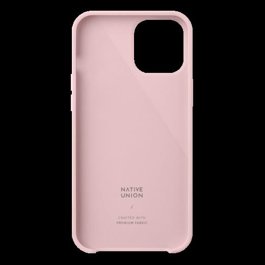 Чехол Native Union Clic Canvas Case Rose (CCAV-ROS-NP20L) для iPhone 12 Pro Max
