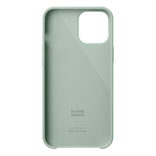Чехол Native Union Clic Canvas Case Sage (CCAV-GRN-NP20S) для iPhone 12 mini