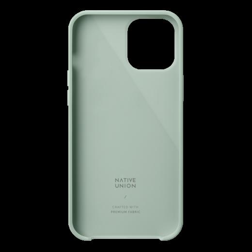 Чехол Native Union Clic Canvas Case Sage (CCAV-GRN-NP20L) для iPhone 12 Pro Max
