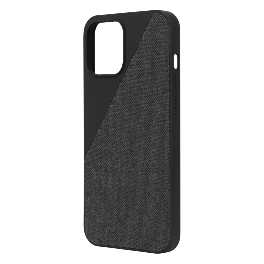 Чехол Native Union Clic Canvas Case Slate (CCAV-BLK-NP20L) для iPhone 12 Pro Max