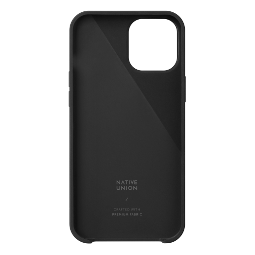 Чехол Native Union Clic Canvas Case Slate (CCAV-BLK-NP20S) для iPhone 12 mini