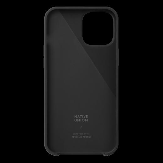 Чехол Native Union Clic Canvas Case Slate (CCAV-BLK-NP20M) для iPhone 12/12 Pro