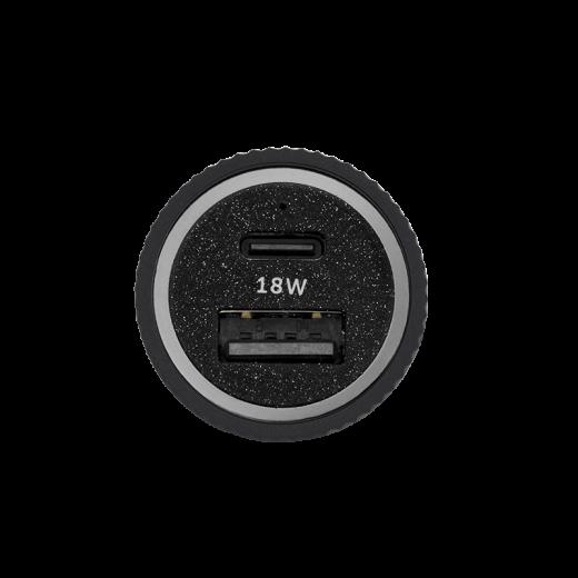 Автомобильное зарядное устройство Native Union Car Charger Dual-Port PD Slate (CAR-CHAR-PD-GRY)
