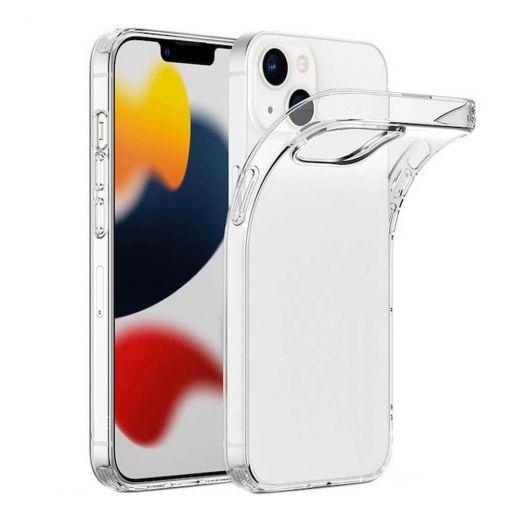Прозрачный силиконовый чехол CasePro Clear Case для iPhone 13