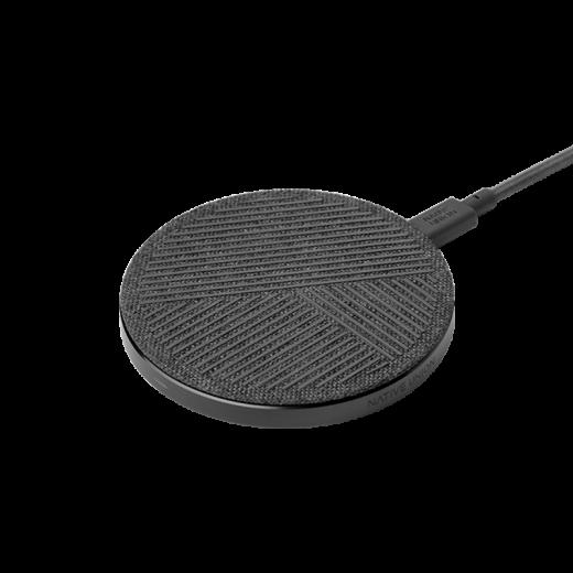 Беспроводное зарядное устройство Native Union Drop Wireless Charger Fabric Slate (DROP-GRY-FB-V2)