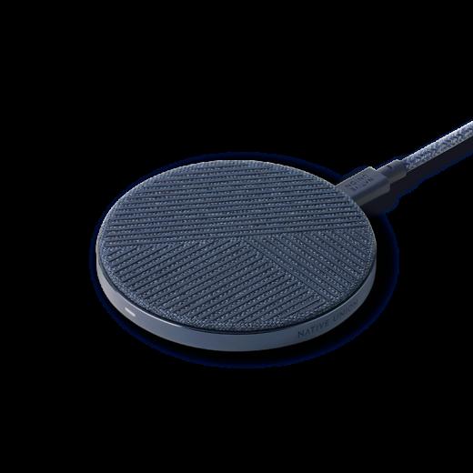 Беспроводное зарядное устройство Native Union Drop Wireless Charger Fabric Indigo (DROP-IND-FB-V2)