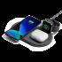 Беспроводное зарядное устройство Native Union Drop XL Watch Wireless Charger Fabric Slate (DROP-XL-GRY-AW-UEU)