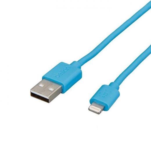 Кабель Belkin USB 2.0/Lightning 1.2 м Blue (F8J023bt04-BLU)