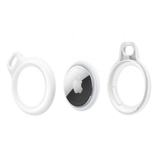 Брелок Belkin Secure Holder with Key Ring White (HNPS2)