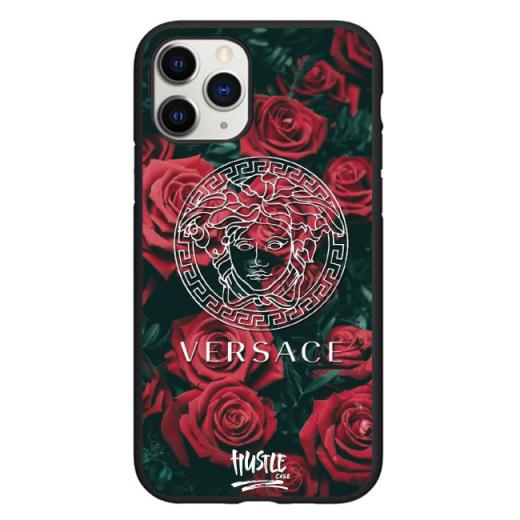Чехол Hustle Case Versace Black для iPhone 12   12 Pro