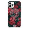 Прозрачный чехол Hustle Case Versace Clear для iPhone 12 Pro Max