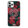 Прозрачный чехол Hustle Case Versace Clear для iPhone 12 | 12 Pro