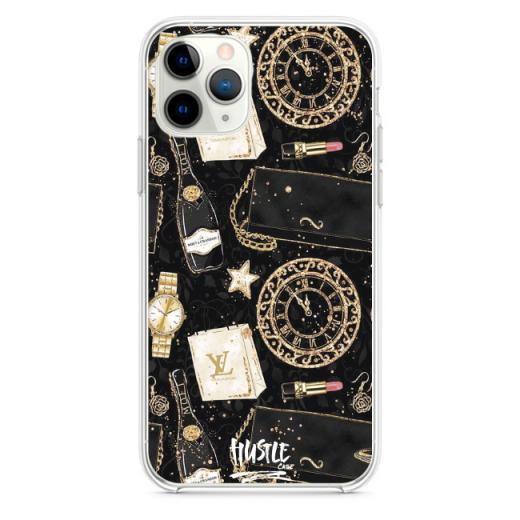 Прозрачный чехол Hustle Case Woman look Clear для iPhone 12 | 12 Pro