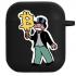 Силиконовый чехол Hustle Case Monopoly Ice Cream Black для AirPods 1 | 2