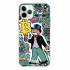 Прозрачный чехол Hustle Case Monopoly Ice Cream Clear для iPhone 12 | 12 Pro