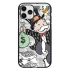 Чехол Hustle Case Monopoly Wallpaper Black для iPhone 12   12 Pro
