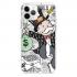 Прозрачный чехол Hustle Case Monopoly Wallpaper Clear для iPhone 12   12 Pro