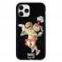 Чехол Hustle Case Angel Supreme black Black для iPhone 12 | 12 Pro