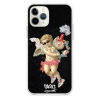 Прозрачный чехол Hustle Case Angel Supreme black Clear для iPhone 12 Pro Max