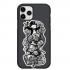 Чехол Hustle Case Monopoly Black & White Black для iPhone 12 | 12 Pro