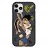 Чехол Hustle Case Bucks Bunny Lola Bunny Black для iPhone 12 | 12 Pro