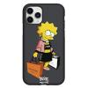 Чехол Hustle Case Simpsons Lisa Simpson Black для iPhone 12   12 Pro