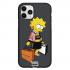 Чехол Hustle Case Simpsons Lisa Simpson Black для iPhone 12 | 12 Pro