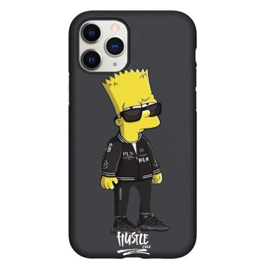 Чехол Hustle Case Bart Hooligan Black для iPhone 12 Pro Max