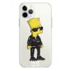 Прозрачный чехол Hustle Case Bart Hooligan Clear для iPhone 12   12 Pro