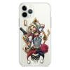 Прозрачный чехол Hustle Case Harley Quinn Clear для iPhone 12 | 12 Pro