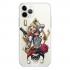Прозрачный чехол Hustle Case Harley Quinn Clear для iPhone 12   12 Pro