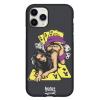 Чехол Hustle Case Girl & Cards Black для iPhone 12   12 Pro